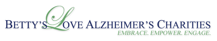 Betty's Love Alzheimer's Charities Logo